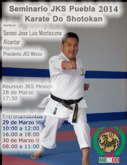 Seminario Puebla 2014 Sensei Jose Luis
